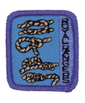 Ranger Kids Achievement Patch Tying Knots