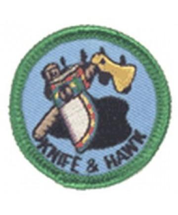 Green Merits/Knife and Hawk
