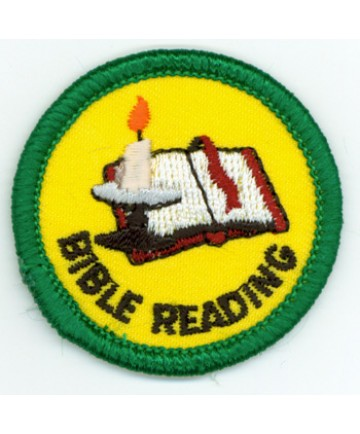 Bible Reading Merit (Green)