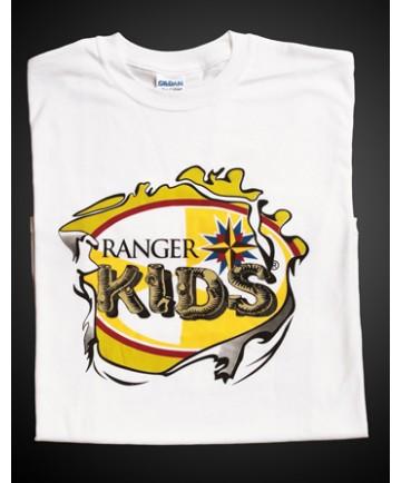Ranger Kids White T-shirt - Adult S