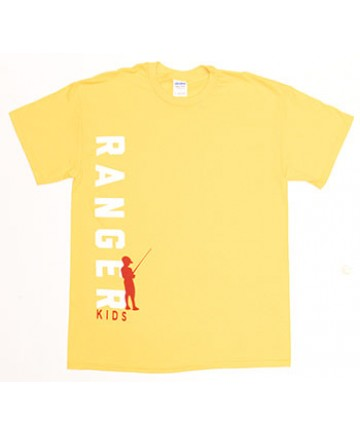 Ranger Kids Yellow T-Shirt Adult 2XL