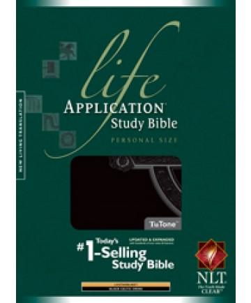 Life Application Study Bible NLT, Personal Size, Black (Celtic Cross Edition)