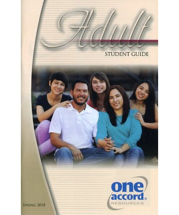 Adult Student Guide / Spring