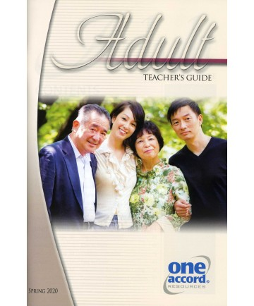 Adult Teaching Guide / Spring