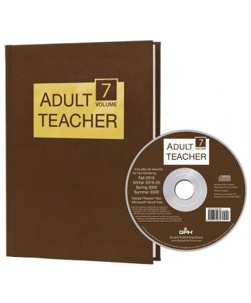 Adult Teacher Volume 7 & CD-ROM 2019-2020