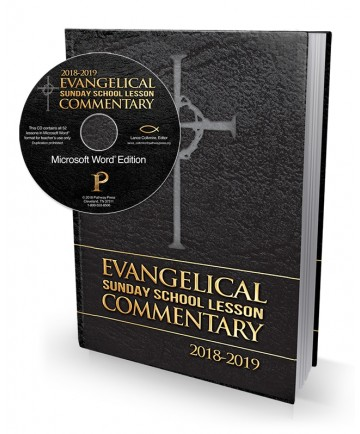 Evangelical Sunday School Commentary Combo 1: Microsoft Word CD 2018 - 2019