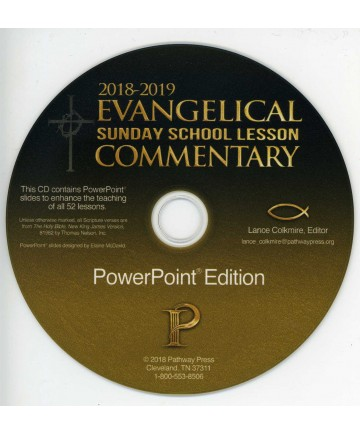 Evangelical Sunday School Commentary PowerPoint CD Edition 2018-19