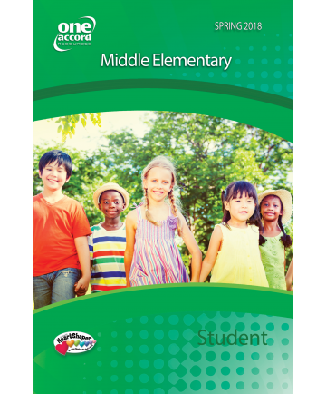 Middle Elementary Student /  Spring