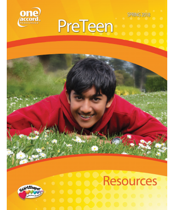 PreTeen Resources / Spring
