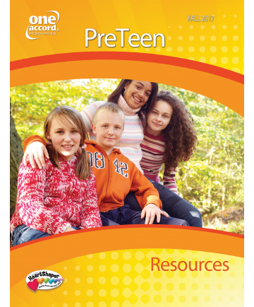 PreTeen Resources / Fall