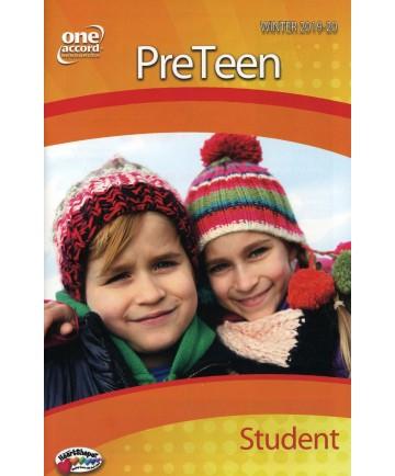 PreTeen Student / Winter