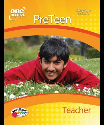 PreTeen Teacher/ Spring