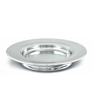 Silvertone Aluminum Stacking Bread Plate