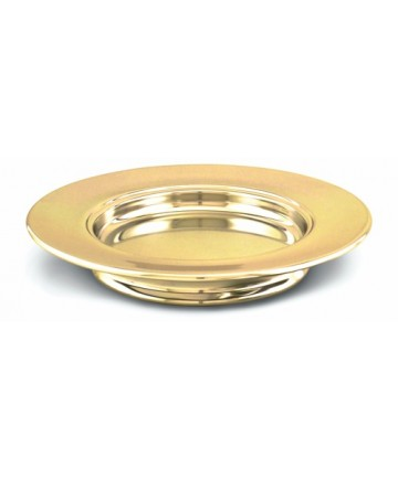 Brasstone Aluminum Stacking Bread Plate