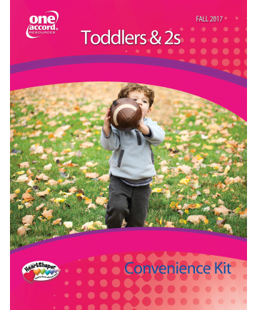 Toddler's & 2s Teacher's Convenience Kit / Fall