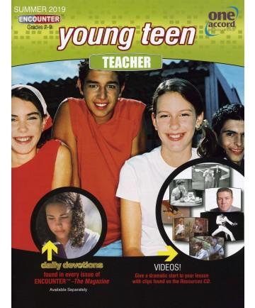 Young Teen Teacher / Summer