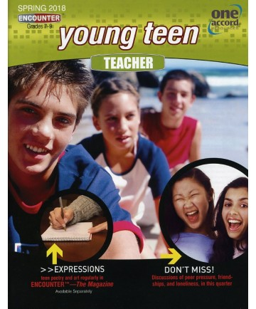 Young Teen Teacher / Spring