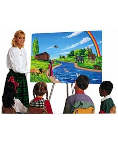 Betty Lukens flannelgraph  Large Deluxe Set (English