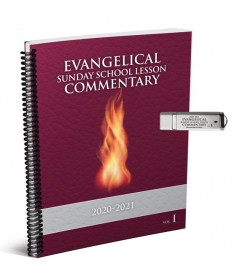 Evangelical SS Large Print Commentary Combo 1: Microsoft Word USB 2020-21