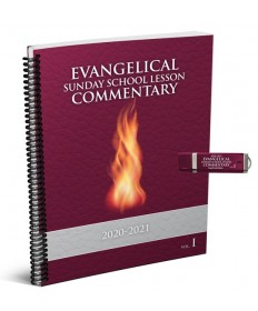 Evangelical SS Large Print Commentary Combo 2: PowerPoint USB 2020-21