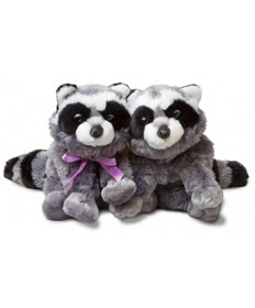 Rusty & Raspberry Raccoon Puppets