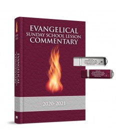 Evangelical Sunday School Commentary Combo 3: Microsoft Word & PowerPoint USB 2020-21