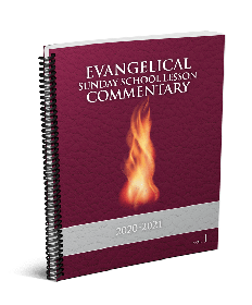 Evangelical Sunday School Commentary Large Print 2020-21