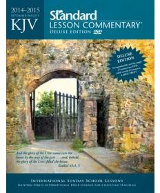 KJV Standard Lesson Commentary®Deluxe Edition 2014-2015