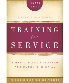 Training for Service Leader's Guide