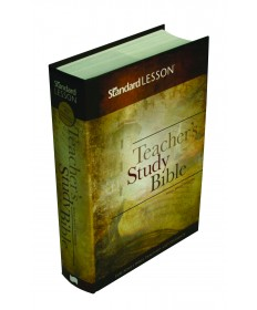 KJV Standard Lesson Teachers Study Bible-HC