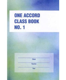 One Accord Classbook No 1