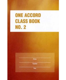 One Accord Classbook No. 2