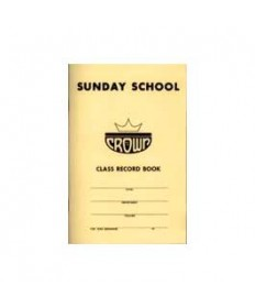 Crown 6 pt Sunday School Classbook
