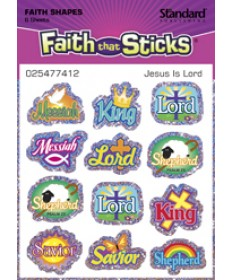 Jesus Is Lord Stickers