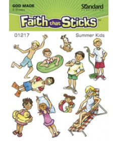 Summer Kids Stickers