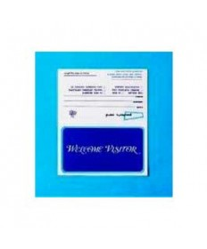 Visitor Card-Welcome Visitor (#WV7) (Pkg-100)