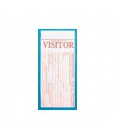 Visitor Card-w/Name Tag (Pkg-100)