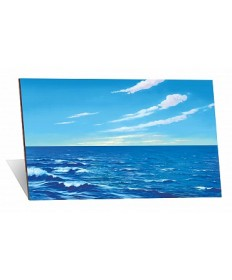 Betty Lukens flannelgraph Small Water & Sky Board