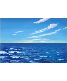 Betty Lukens flannelgraph Small Water & Sky Background