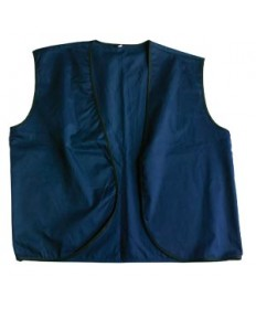 RR Navy Denim Vest A/L