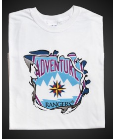 Adventure Rangers White T-Shirt A4XL