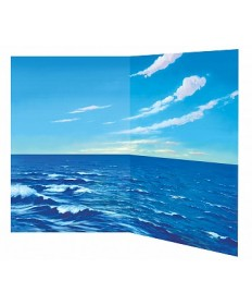 Betty Lukens flannelgraph Large Water & Sky Board
