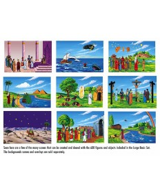 Betty Lukens Flannelgraph Bible Story Set-Large