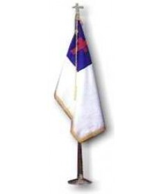 Christian Flag Set 3'x5' Nylon
