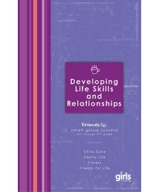 Friends Developing Life Skills & Relationships: Journal Page Booklets