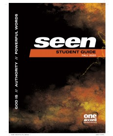 Seen Student Guide / Fall