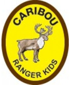 Ranger Kids Advancement Patch/Caribou