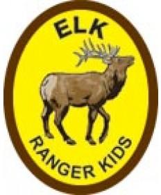 Ranger KidsTrail  Patch/Elk