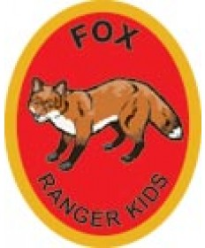 Ranger Kids Advancement Patch/ Fox