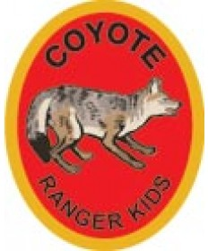 Ranger Kids Advancement Patch/ Coyote